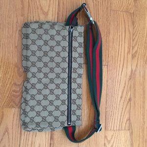 d4fbab0e82ba Gucci Bags | Vintage Gg Shelly Line Waist Bum Bag | Poshmark